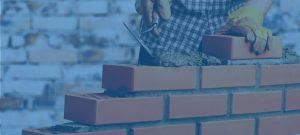 masonry estimating image - brick laying