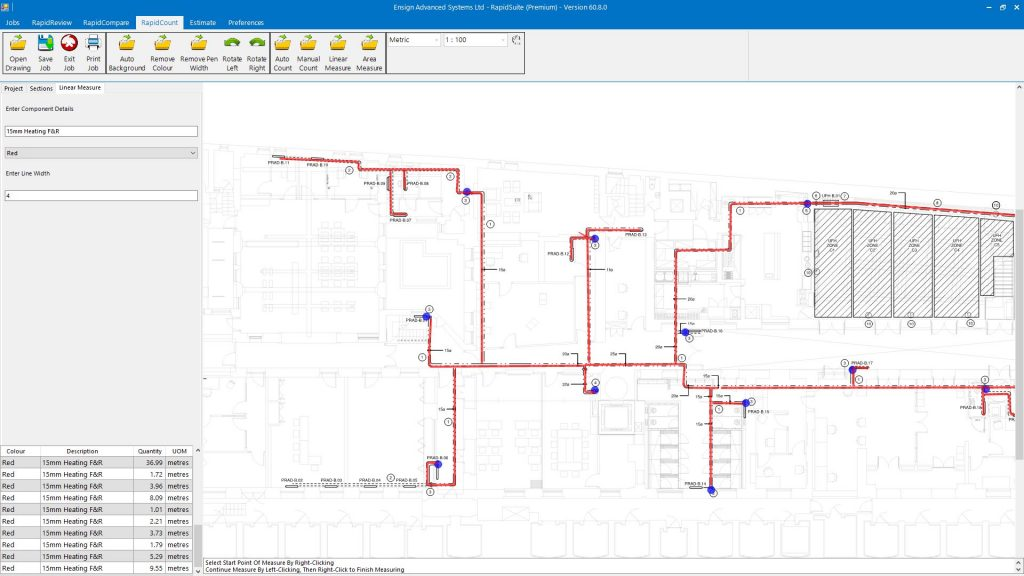 RapidQuote mechanical insulation estimating software free trial