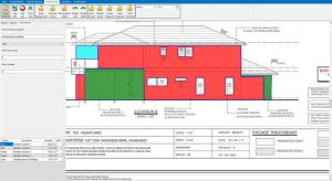 area measures completed in seconds with RapidQuoteUK cladding estimating software