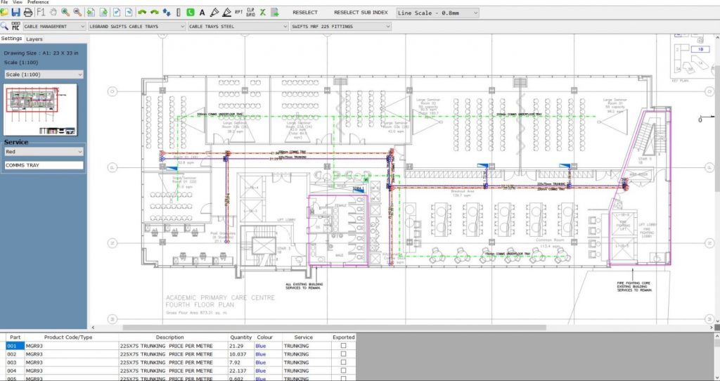 RapidQuoteUK Electrical TakeOff software and Electrical Estimating software