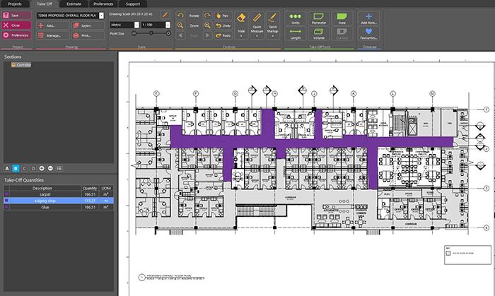 Flooring Calculator Floor Covering Estimating Software Rapidquote