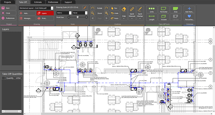 Plumbing And Mechanical Estimating Software Rapidquote Uk